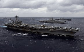 Picture weapons, army, USS Nimitz
