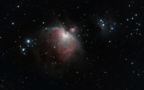 Picture is, The Orion Nebula, below, Belt Of Orion, Orion nebula
