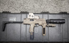 Wallpaper muffler, TP9, gun