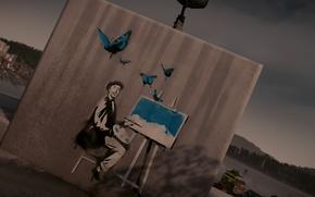 Picture Painter, Graffiti, inFAMOUS Second Son