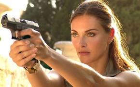 Picture gun, shot, actress, Olga, Fadeeva