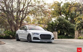 Wallpaper Audi, Hybrid, Forged, Sportback, Vossen, Wheels, HF-2