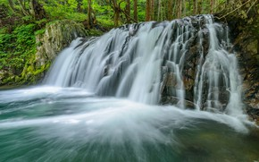 Picture water, waterfall, stream