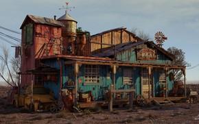 Wallpaper house, Bondok Max, THE WEST