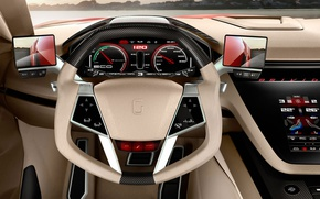 Picture the wheel, salon, dashboard, Italdesign Giugiaro, Bricido