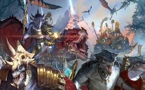Picture sake, Warhammer, Total War, monster, weapon, spear, bakemono, Total Warhammer II Was, gam