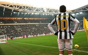 Wallpaper corner, Del-Piero, stadium, Juventus