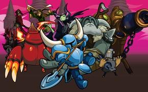 Picture Games, Art, Platform, Retro, Cartoon, Character, Shovel Knight