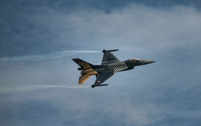 Wallpaper fighter, Fighting Falcon, General Dynamics, F16