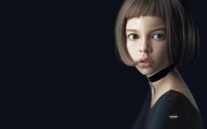 Picture portrait, art, Portrait, Huy Ozuno, Freelance Concept Artist