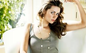 Picture pose, portrait, makeup, actress, hairstyle, brown hair, Australian, Maeve Dermody, Maeve Dermody