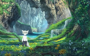 Picture landscape, nature, anime, baby