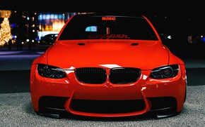 Picture the city, tuning, the evening, BMW, handsome