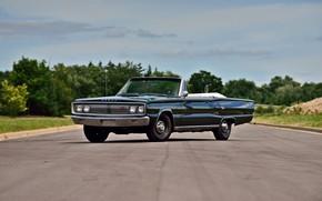 Picture Classic, 1967, Convertible, Dodge Coronet