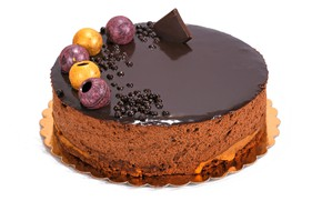 Picture chocolate, cake, dessert, cakes, chocolate, glaze, cakes, sweets, biscuit