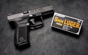 Wallpaper gun, self-loading, CANIK TP9
