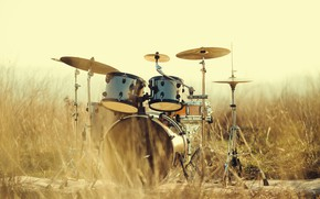 Wallpaper blur, drums, tool, drum, installation, shock, music, bokeh, professional, drums, musical, wallpaper., instrument, professional, drum ...
