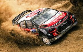 Picture Auto, Sport, Machine, Race, Citroen, Skid, Dirt, Citroen, Car, WRC, Rally, Rally, Kris Meeke, Meeke, …
