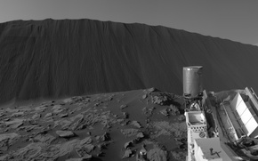 Wallpaper Curiosity, planet, the Rover, NASA, Mars, dunes