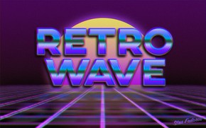 Picture The sun, Music, Neon, Background, Synthpop, Darkwave, Synth, Retrowave, Synthwave, Synth pop, Stas Fedorov