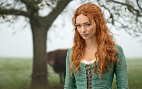Wallpaper Girl, Look, Girl, Actress, The series, Red, Beauty, Beautiful, Woman, Redhead, Actress, Redhead, Red hair, ...
