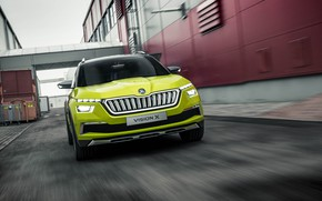Picture Concept, speed, 2018, Skoda, Vision X