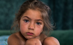 Picture childhood, portrait, girl, Artistic Child Photography