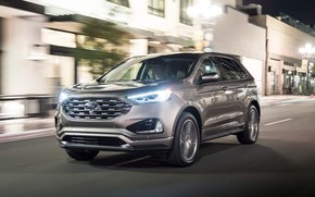 Picture lights, Ford, Edge, crossover, Titanium, 2019, Elite Package