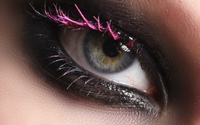 Picture eye, Look, make-up