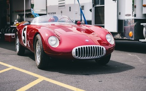 Picture Maserati, sports, the front, 300S