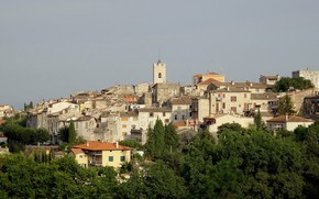 Picture France, tower, home, Provence, Vance