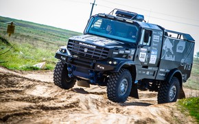 Picture Sport, Truck, Master, Kamaz, Rally, Rally, KAMAZ, The roads, Best, Master, KAMAZ-43509