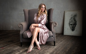 Picture room, picture, chair, legs, Kate, Catherine Gutowska