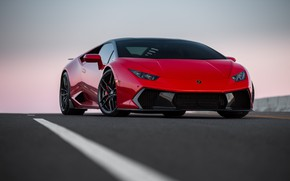 Picture Lamborghini, Italia, RED, VAG, Huracan, Novara