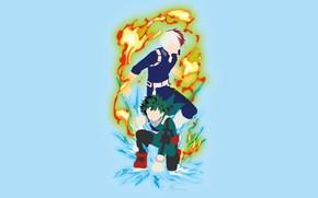 Picture game, anime, asian, manga, oriental, asiatic, seifuku, japonese, Boku no Hero Academy, My Hero Academia