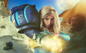 Picture girl, style, cosplay, Samus Aran