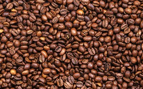 Wallpaper background, coffee, grain, texture, background, beans, coffee, roasted