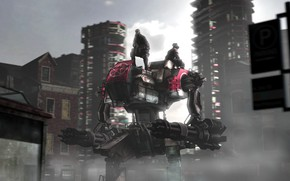 Picture the city, transport, building, titan, The Patrol