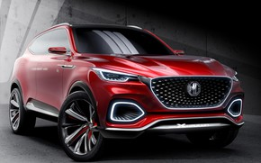 Picture Concept, front view, 2018, crossover, SUV, MG X-Motion
