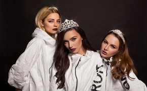 Wallpaper group, girls, Serebro, SEREBRO, Olga Seryabkina