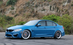 Picture BMW, Blue, F80