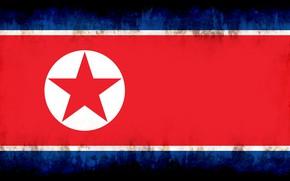 Picture flag, burn, north corea