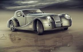 Picture water, car, Morgan Aero 8 custom