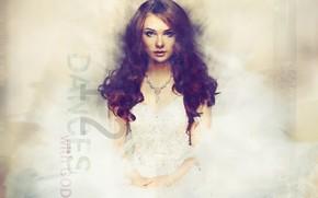 Picture girl, hair, dress, art