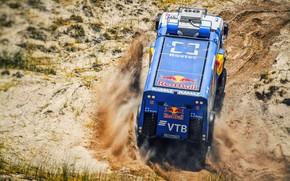 Picture Sand, Sport, Truck, Race, Master, Russia, Kamaz, Rally, Dakar, KAMAZ-master, Dakar, Rally, KAMAZ, The roads, …
