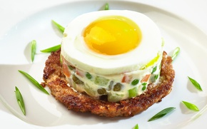Picture egg, salad, Olivier