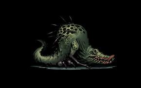 Picture sprite, Crocodile, Darkest dungeon