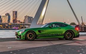 Picture Mercedes-Benz, the evening, AMG, 2018, RennTech, GT R