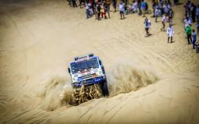 Picture Sand, Auto, Machine, People, Truck, Race, Master, Lights, Russia, Kamaz, Rally, Dakar, Dakar, Rally, KAMAZ, …