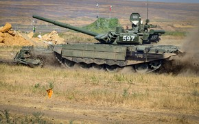 Picture polygon, main battle tank, T-72